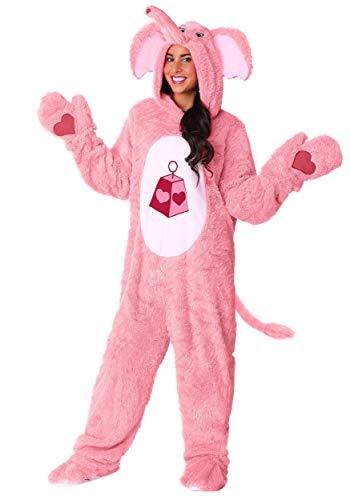 Care Bears & Cousins Adult Lotsa Heart Elephant Fancy Dress Costume Medium