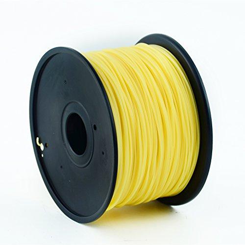 ABS 1.75mm Hochpräzise 3D-Druck-Filament (20 Meter) 30+ Exakte Farben 3D Stifte / Drucker Verbrauchsmaterialien (Khaki) (Khaki Schokolade)