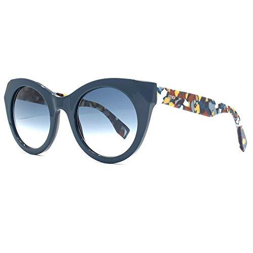 Fendi -  Occhiali da sole  - Donna Blue Gradient (Fendi Occhiali Da Sole)