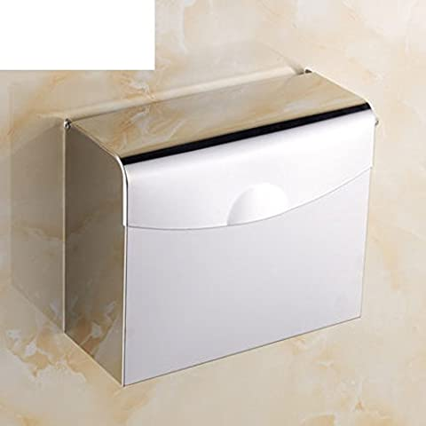 boîtes de mouchoirs en acier inoxydable/boîte de papier de toilette/Plateau à main/Carré n'est pas rouillé porte-papier/Herbe plateau