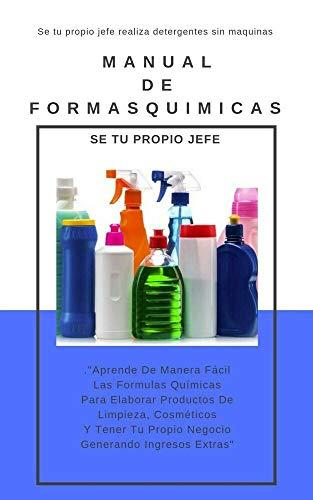 Formulas Quimicas Para Elaborar productos De Limpieza Y Mas ...