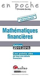 Mathematiques Financières 2014-2015