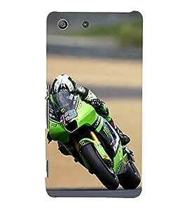 ifasho Designer Phone Back Case Cover Sony Xperia M5 Dual :: Sony Xperia M5 E5633 E5643 E5663 ( Wolf Man Full Moon )
