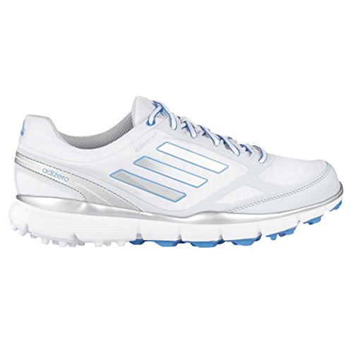 Adidas W adizero Sport Scarpe donna - bianco/III grigio/blu - White/Silver/Blue