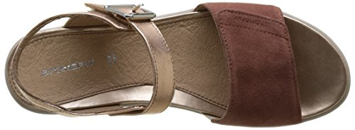 Stonefly Aqua Iii 2, Sandales Bout Ouvert Femme Marron (Cotto 305)