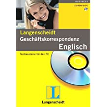 Geschäftskorrespondenz Englisch