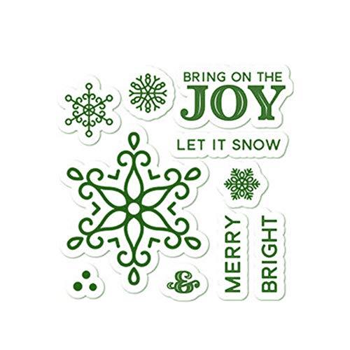 PENVEAT Snowflake stirbt und Briefmarken Frohe Weihnachten Metall Die Craft New 2019 Schneiden Scrapbooking Karte, die Präge Cuts Die, sterben und Stempel, China Cut In China-platten