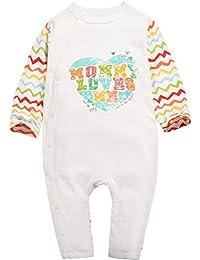 Pijama Bebé Peleles Niñas Niños Mameluco Algodón Monos Manga Larga
