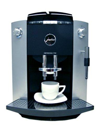 Jura Espresso Vollautomat F 50 Impressa platin