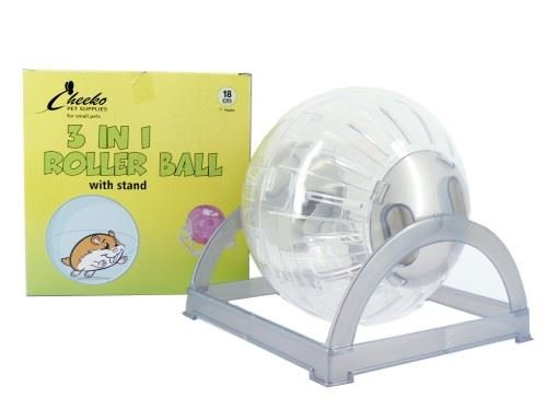 (3 Pack) Cheeko - Hamster Ball & Stand
