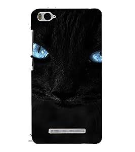 PrintVisa Blue Eyes Cat Design 3D Hard Polycarbonate Designer Back Case Cover for Xiaomi Redmi MI 4C