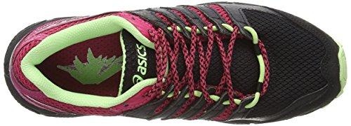 Asics - Gel-fujiattack 4, Scarpe da corsa Donna Nero (Black/Pistachio/Wild Raspberry 9087)