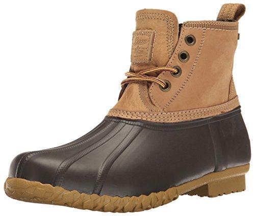 G.H. Bass & Co. Men's Douglas Rain Boot, Dark Tan/Brown, 8 M...