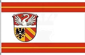 Bannerflagge Main-Kinzig-Kreis - 150 x 400cm - Flagge und Banner