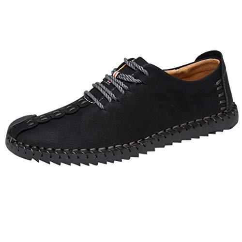 Kostüm Nationale Stiefel - JYJM Herren Casual Lederschuhe Outdoor Rutschfeste Lace-Up Verschleißfeste Schuhe Bequem Weich Leichtgewicht Mode Lederschuhe Mode Wild Sneakers