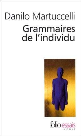 Grammaires de l'individu