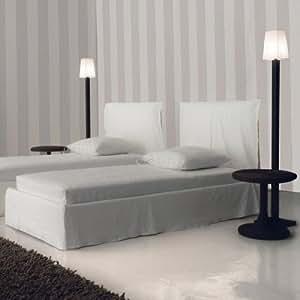 gervasoni ghost 80 s bett mit husse 215x98cm wei ohne. Black Bedroom Furniture Sets. Home Design Ideas