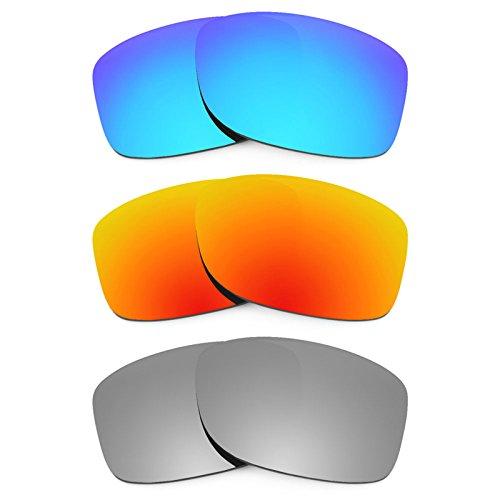 Revant Ersatzlinsen für Oakley Jupiter Squared Polarisiert 3 Paar Kombipack K014