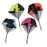 Sungpunet Free Throwing Toy Hand Throw Soliders Juego paracaídas Juguetes voladores para niños al Abierto