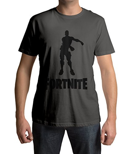 1/4 MILE KULT CLOTHING FORTNITE Inspiriert T-Shirt Floss Tanz PS4 Xbox Jungen/Mädchen 3-14 Jahre (7-8 Jahre, Dunkelgrau)