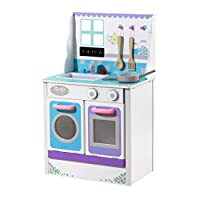 Plum Cook-a-lot Chive Wooden Role Play Kitchen