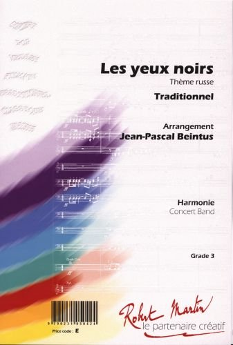 LES YEUX NOIRS   CONCERT BAND/HARMONIE   SET