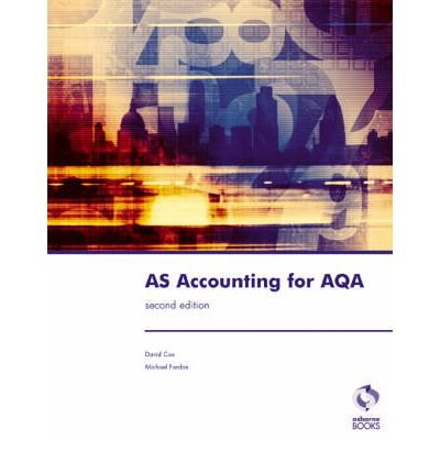 [(AS Accounting for AQA)] [ By (author) David Cox, By (author) Michael Fardon ] [May, 2008]