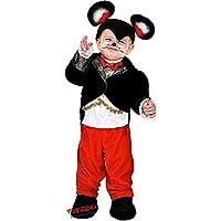 VENEZIANO Novidea Costume Vestito Carnevale Bambino Baby Topolino 12 18 24  Mesi 1 2 Anni ( 2a17680ca59