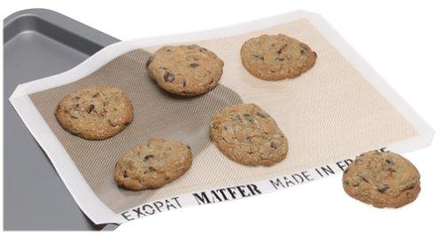 Matfer Bourgeat Exopat Backmatte, antihaftbeschichtet 11-5/8 inch x 16-3/8-Inch beige Exopat Non-stick Baking Mat