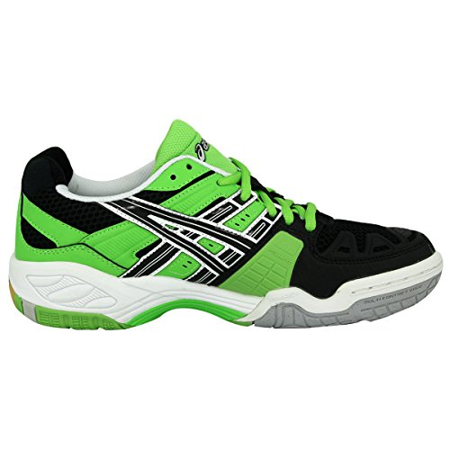 Asics  GEL-CYBER POWER, Herren Hallen & Fitnessschuhe, Grün Green/Black/Silver