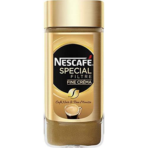 Nescafé - Café Noir Fine Mousse Fine Créma - Le Flacon De 100G - Livraison Gratuite Pour Les Commandes En France - Prix Par Unité