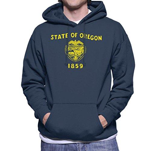 Oregon State Flag Men's Hooded Sweatshirt