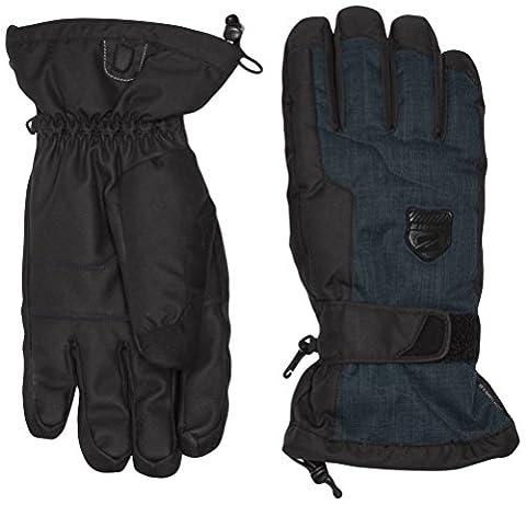 Ziener Herren Handschuhe Stam AS Gloves Ski Alpine, Dark Shadow Splash, 10.5, 151010 (Glove Dark Shadow)