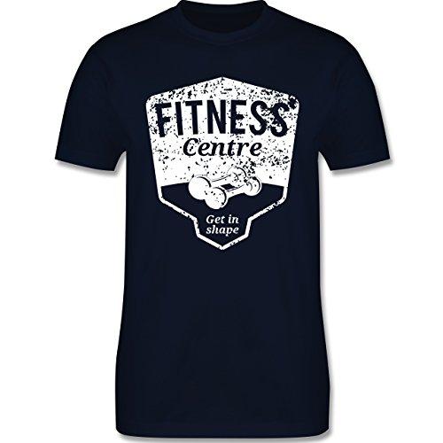 CrossFit & Workout - Fitness Centre - Herren Premium T-Shirt Navy Blau