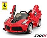 Mondial Toys Voiture électrique Machine pour Enfants 12V avec télécommande Ferrari Laferrari