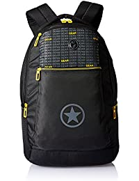 Gear 26 Ltrs Black and Yellow  Laptop Bag ( ECO LBP 2)
