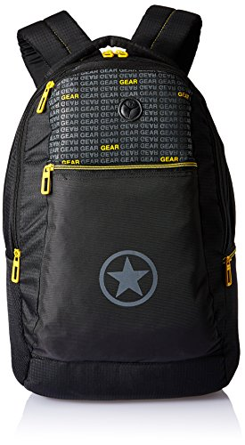 Gear 26 Ltrs Black and Yellow  Laptop Bag (METRO ECO LBP 2)