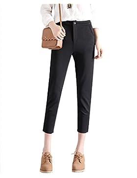 ShiFan Mujeres Slim Pantalones Elástica Casual Elegante Pantalón Para Fiesta