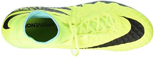 Nike Hypervenom Phantom II (Fg), Scarpe da Calcio Uomo Giallo (Amarillo (Amarillo (Volt/Black-Hyper Turq-Clr Jade)))