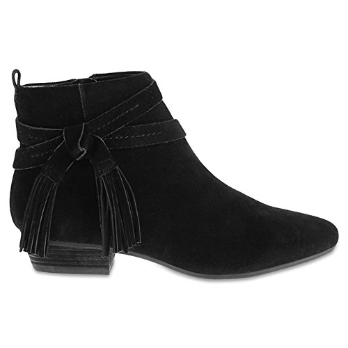 Marks & Spencer T027224A Suede Tassel Ankle Boots with Insolia Flex RRP...