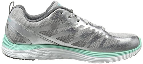 Skechers VALERIS - GREAT ONE Damen Sneaker Silber (SLGY)