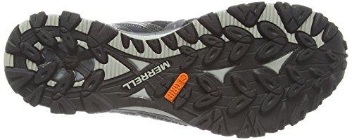 Merrell Grassbow Sport Gore-Tex, Chaussures de Football Homme Black/Silver