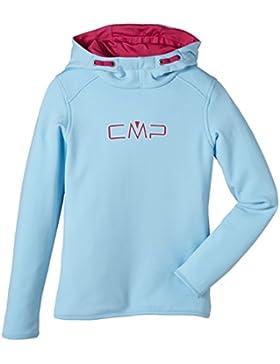 CMP – F.lli Campagnolo Sweat Hoodie - Sudadera para niña, color turquesa, talla 98