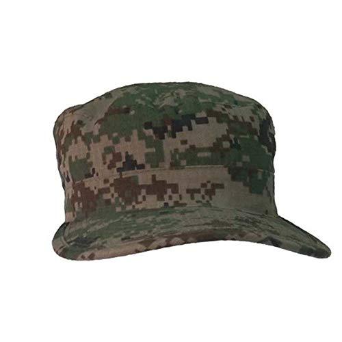 Herren Cadet Army Cap Militär Flat Top Hut Patrol Caps schwarz -