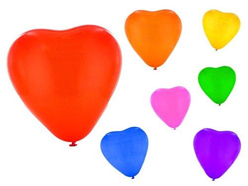 Set di palloncini a forma di cuore 25 PZ in
