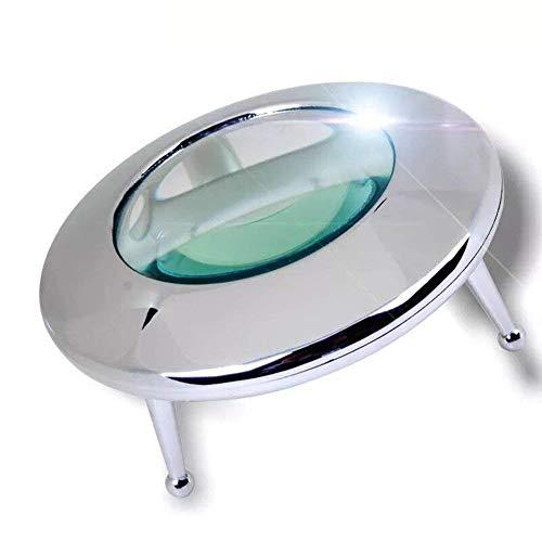 Fangfang GAO magnifier 10X HD-LED-Violett-Vergrößerungsglas-Desktop platziert für ältere Menschen und Kinder beim Lesen der elektronischen Industrie vor Ort Inspektion Heimgebrauch und Bedienung