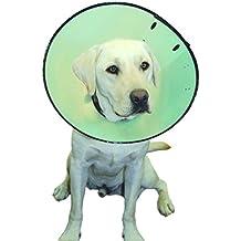 Compañía de los animales inteligente recuperación collar tamaño 5, apto para perro de cuello tamaño 56–66cm
