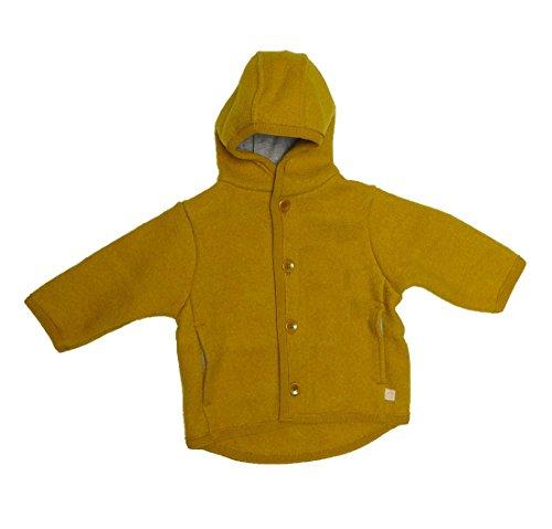 Disana Kinder Baby Walk-Jacke 100% Bio-Schurwolle (110/116, curry)