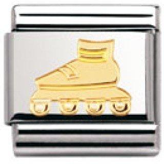 nomination-composable-classic-sport-edelstahl-und-18k-gold-rollerblades-030106
