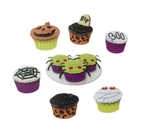 Jolee's Boutique Seasonal Embellishments-Halloween Cupcakes